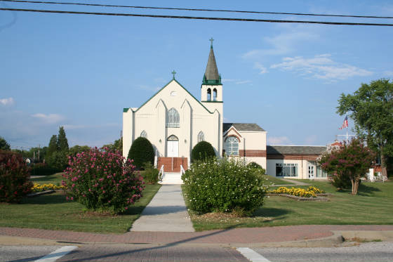 Our Lady Star of the Sea Catholic Church, Solomons Island, 2009