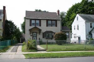 Dora's home at 203 Branford St, Hartford, Connecticut, 2009. Photo by Joe Manning.