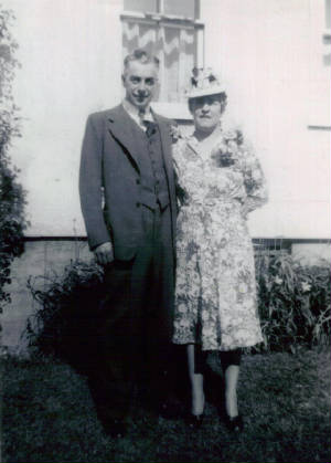 Mary Roberts Lefebre and husband Adolph, 1947. Photos provided by family, except where noted.