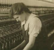Alberta Bonneau, 1916. Photo by Lewis Hine.