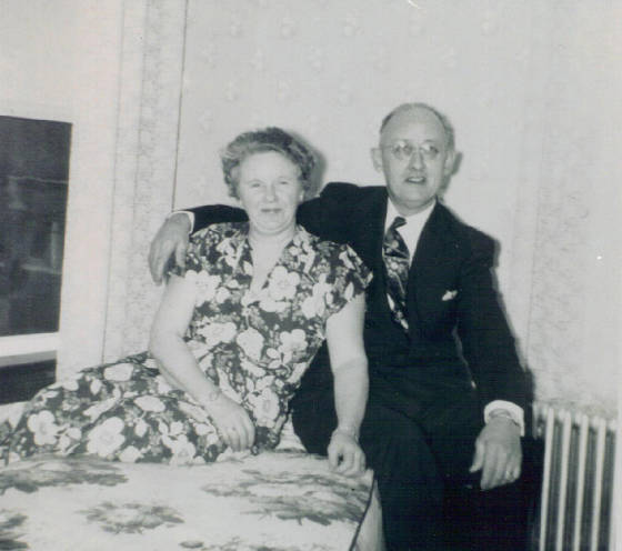 Joseph A. and Margaret Gauthier, date unknown. Provided by family.