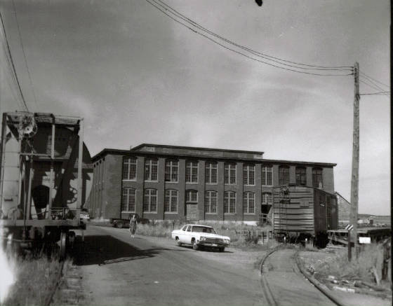 American Can Co. on Sea St, circa 1960s. Courtesy of Border Historical Society.