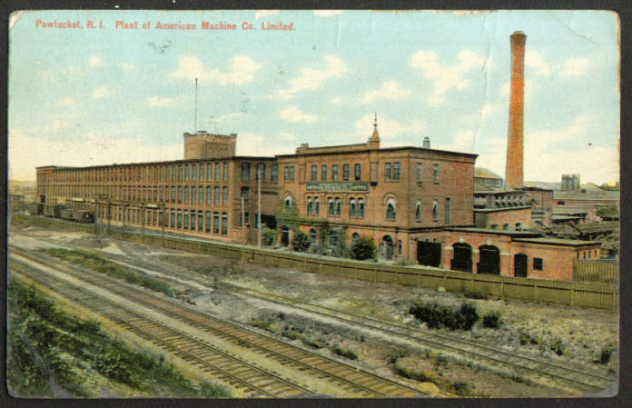 1910 postcard of American Machine Co.