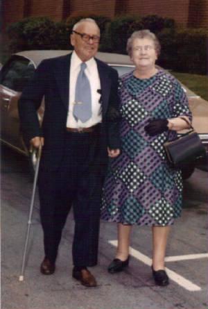 Anna Dugas Paradis and husband Mathias, 1974. Photo provided by family.