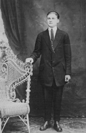 Arthur Asselin, date unk. Photo provided by family