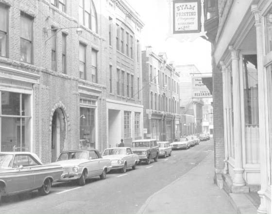Bank Street, North Adams, circa 1968, courtesy of City of North Adams