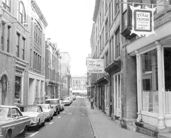Bank Street (circa 1968), courtesy of the North Adams Transcript