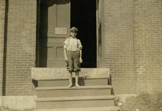 Elias Joseph, Winchendon, Massachusetts, September 1911. Photo by Lewis Hine