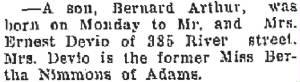 Courtesy of North Adams Transcript.