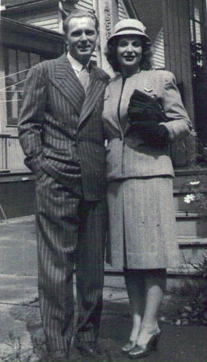 Ruth Hazel Smith with brother Carl Hazel