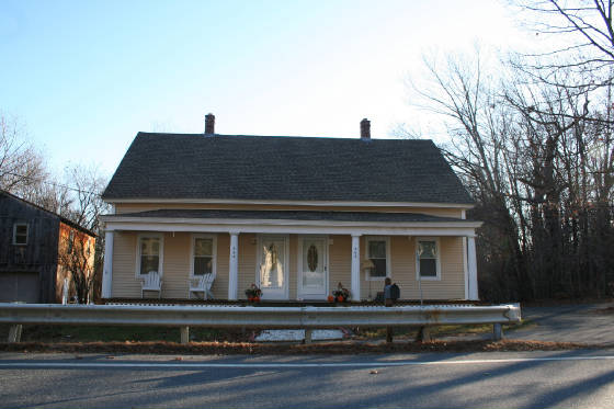 House at 363 Maple St, Winchendon, Massachusetts, November 2008.