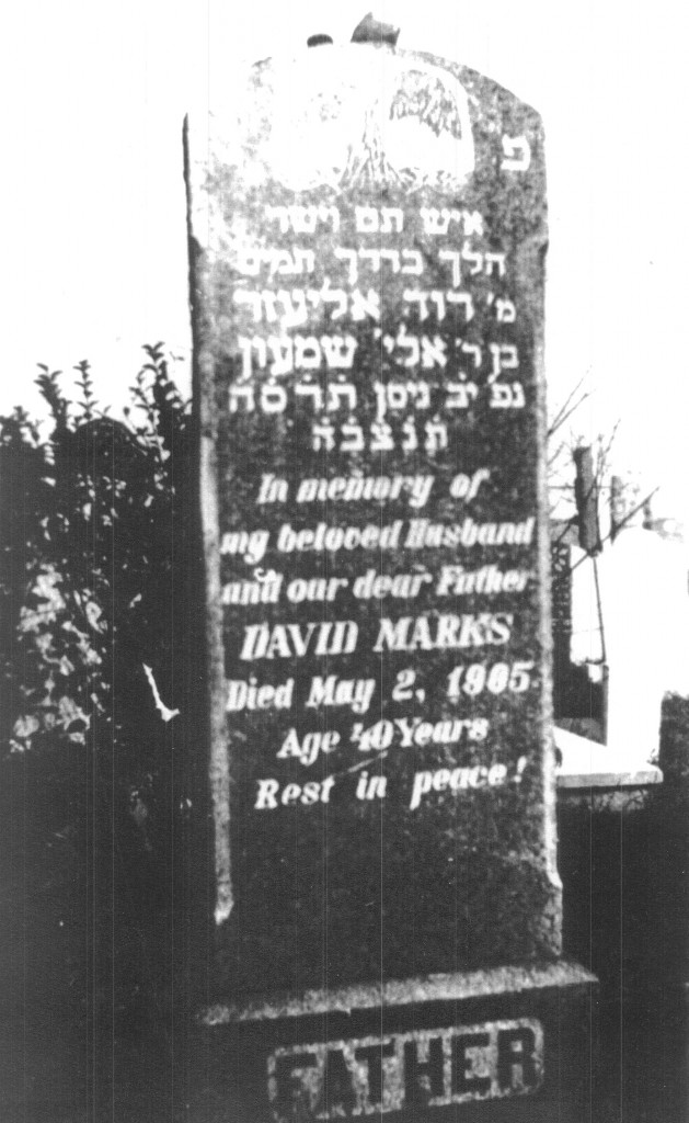 David Marks was the father of Eli and Morris