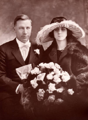Maurice and Odella Laberge Doyle, 1922.