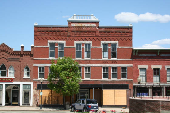 Dickinson Block, Claremont, New Hampshire, 2007