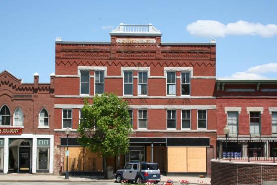 Dickinson Block, Claremont, New Hampshire, 2007