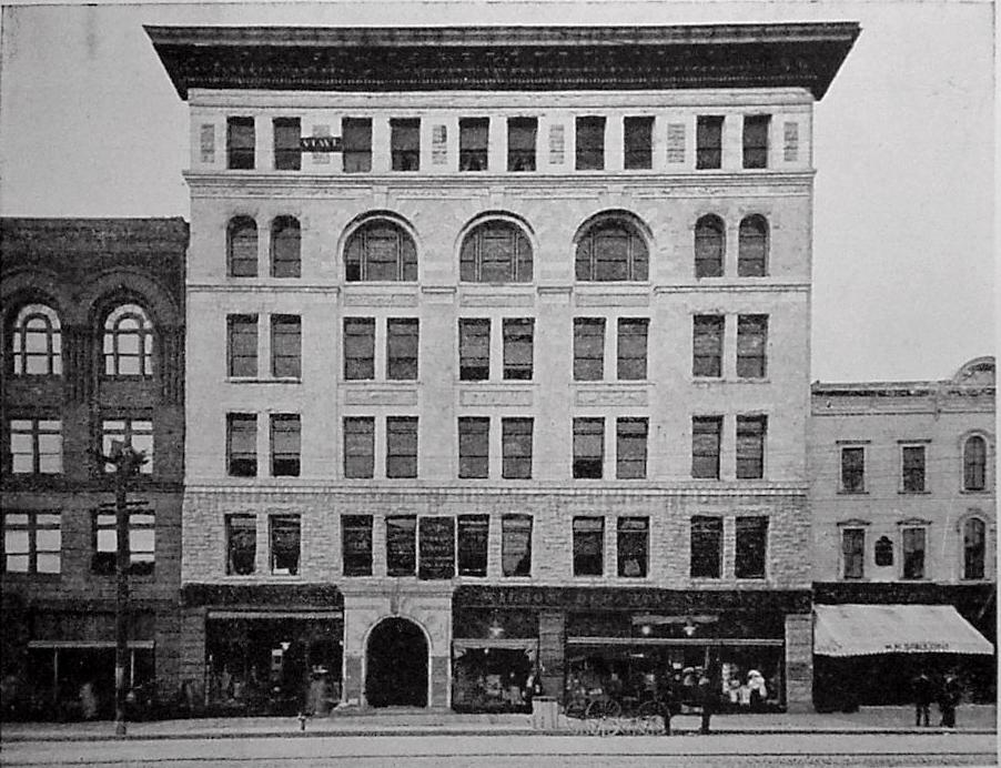 Dowlin Block, 1911. Courtesy of North Adams Historical Society.