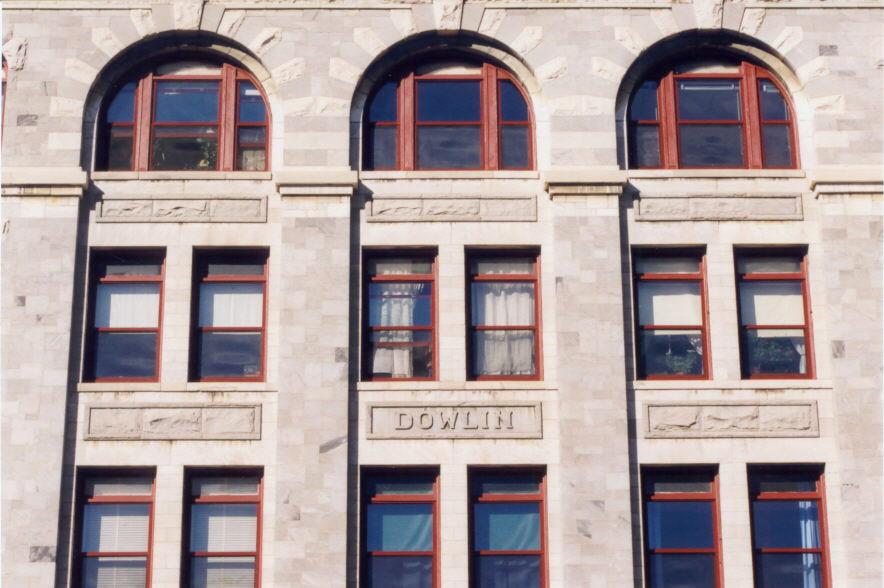 Dowlin Block. Photo by Joe Manning, 1999.