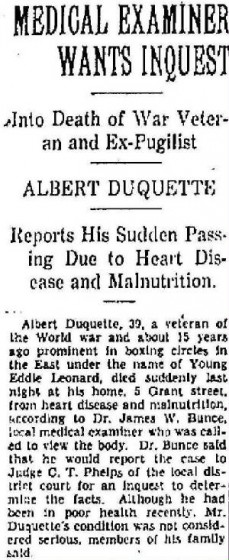 North Adams Transcript, October 1, 1935. Used with permission. Article concluded at right.