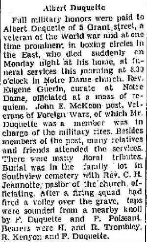 North Adams Transcript, October 3, 1935. Used with permission.