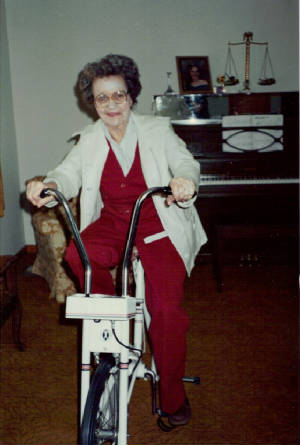 Fannie Sweeney Henderson, 1995. Photo provided by family.