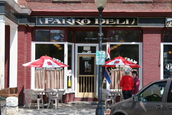 Farro Deli, Opera House Square, Claremont, New Hampshire, 2007