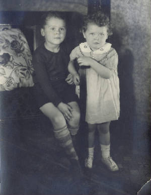Franklin and Patricia Eary, circa 1930.
