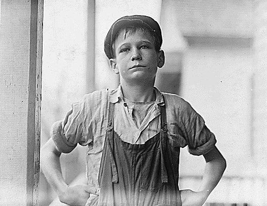 Furman Owens, Augusta, Georgia, January 1909, photo by Lewis Hine