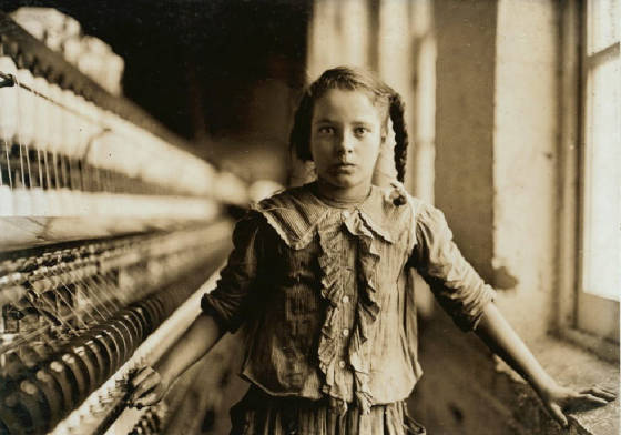Cora Lee Griffin, Whitnel, North Carolina, December 1908. Photo by Lewis Hine.