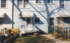 My former Greenbelt, Maryland home at 14X Hillside Rd (2004)