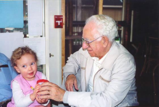 Hannah Witter and Tony Talarico at the Bean, North Adams (2000)