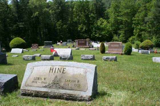 Ouleout Valley Cemetery, Franklin, New York. Photo by Joe Manning, 2012.