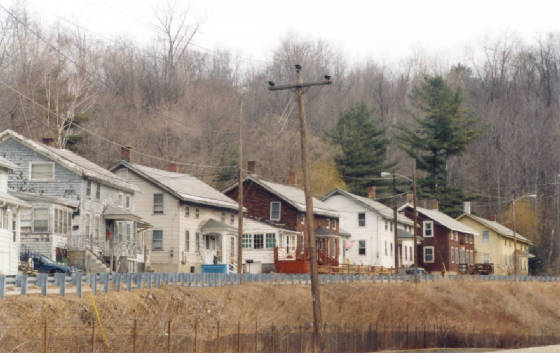 Houses on Front Street, North Adams (2002)