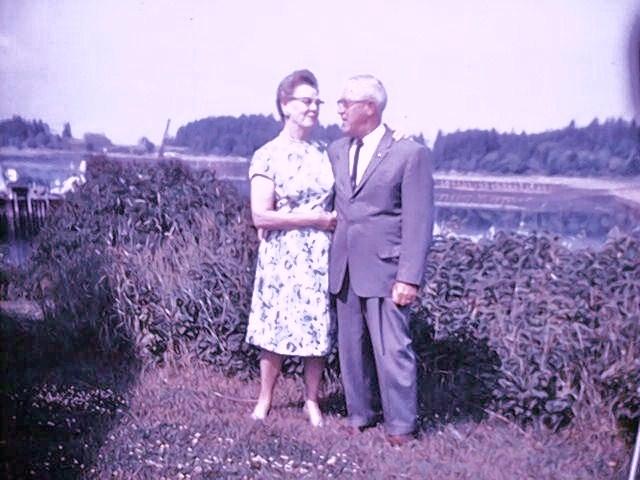 Ida and Otto Arnesen.