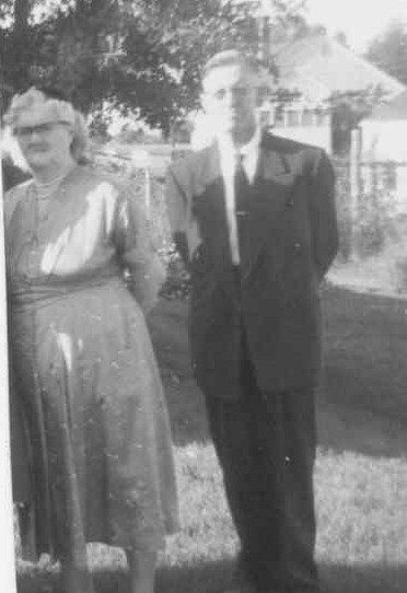 James and Mary Leazer in the 1950s. Photo provided by family.