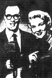 Jim Meyers and Ruby Lee, copied from the Washington Post archives (1960)