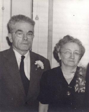 Joseph and Alice Allard, circa 1950s.