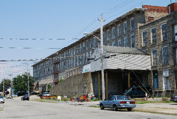 Recent photo of former King Philip Mill. Source not credited.