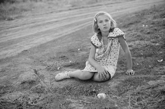 Farm girl, Seward County, Nebraska, October 1938. Photo by John Vachon.