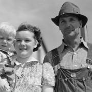 Wilfrid Tow family, Laredo, Montana