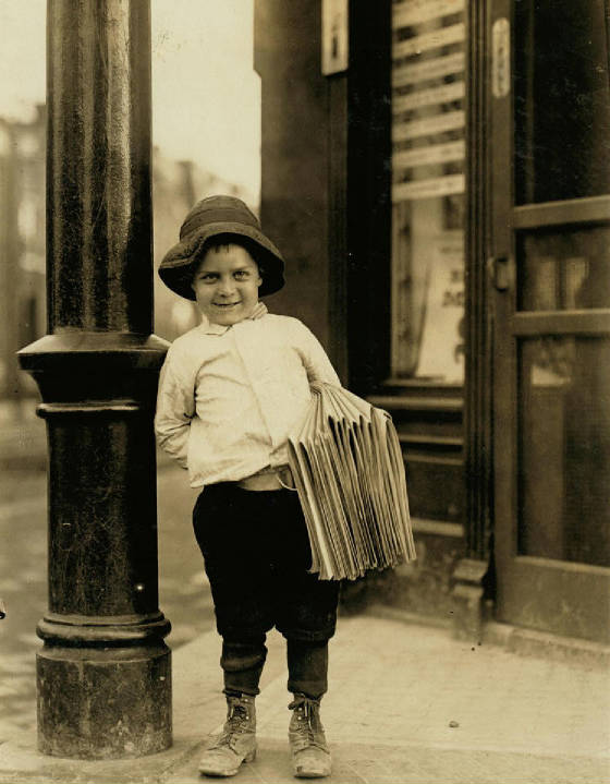 George Okertich, St. Louis, Missouri, May 9, 1910. Photo by Lewis Hine.