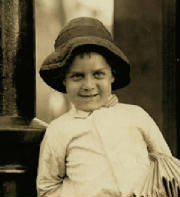 George Okertich, 1910. Photo by Lewis Hine.