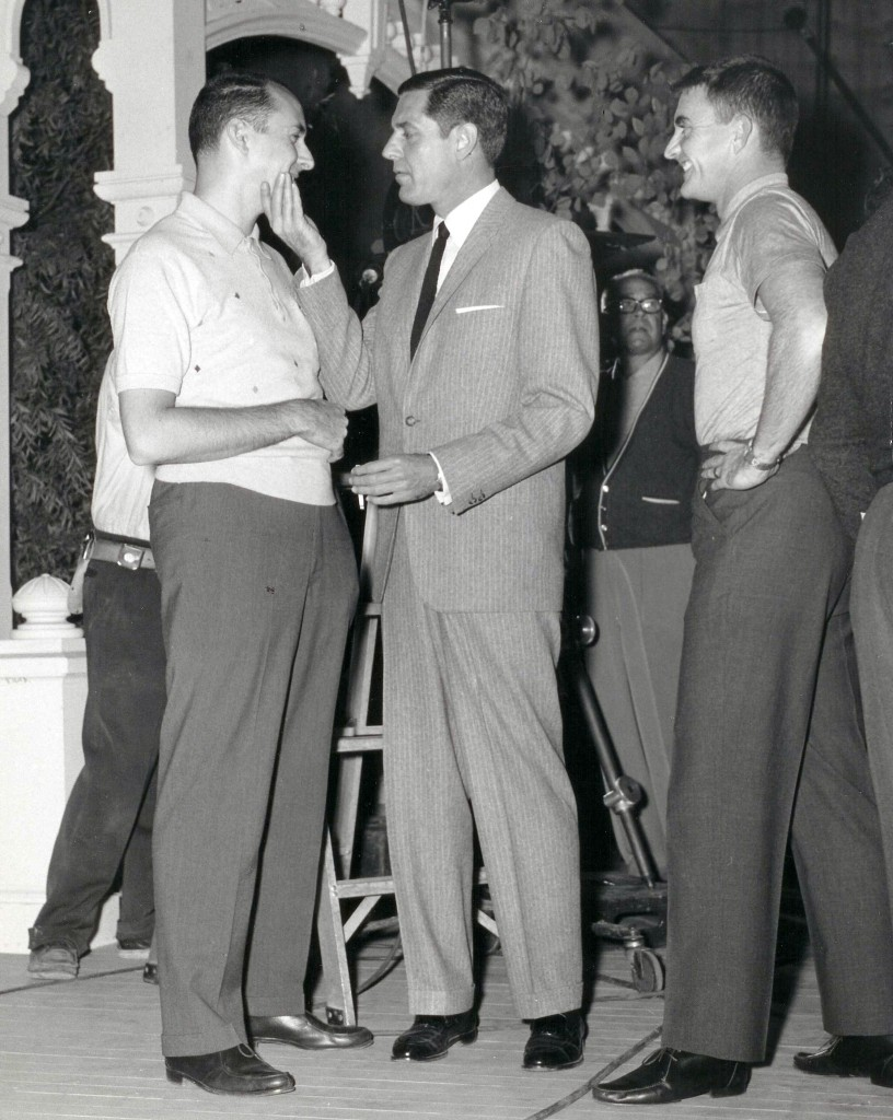 Henry Mancini, Craig Stevens and Blake Edwards. Photo provided by Mancini estate.