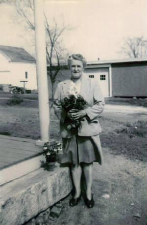 Mary Roberts Lefebre, on Mother's Day, date unknown.