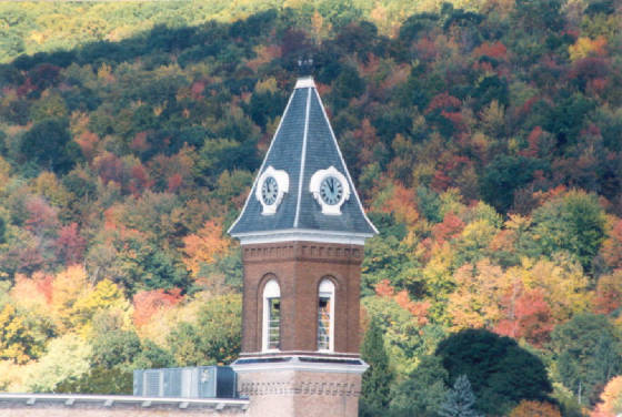 Mass MoCA clock tower, North Adams (1999)