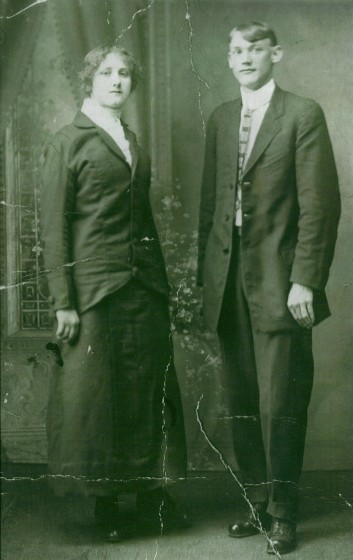 Mattie and Thomas McDaniel, date unknown. Provided by family.