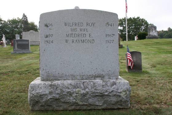 Calvary Cemetery, Winchendon, Massachusetts, 2008.