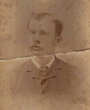 Fred Greenwood (Boisvert), father of Mildred Greenwood, date unknown. Photo provided by family.