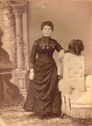 Agnes Greenwood (Boisvert), mother of Mildred Greenwood, date unknown. Photo provided by family.