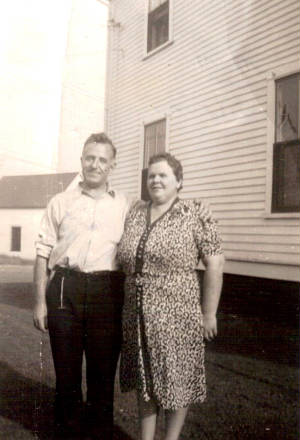 Mildred Greenwood Roy and a brother, date unknown. Photo provided by family.