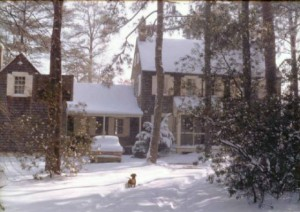 Manning house in Dowell, Maryland (1960)